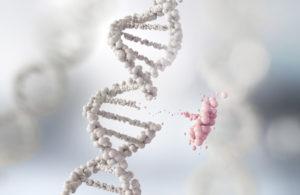 showing a genetic mutation